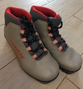 Ботинки лыжные 32р