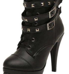 Ботильоны (ботинки, сапоги). Новые