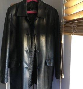 Кожаный Куртка- пиджак