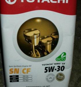 Масло тотачи полусинтетика. 5W30