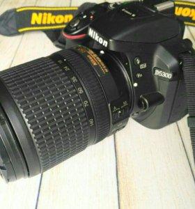 Камера Nikon D5300 + Nikkor 18-140 VR