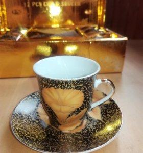 Подарочный набор кофейных чашек