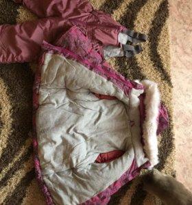 Детская зимняя куртка и штаны
