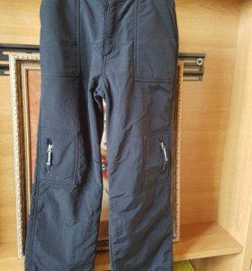 Теплые брюки 34р