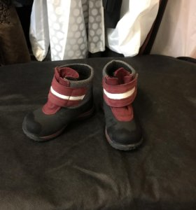 Ботинки осенние на мальчика, кожа