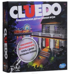 Настольная игра Клуедо(Cluedo)