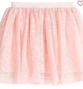 Нарядная юбка H&m с биркой от 98-104 и 122-128