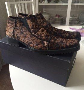 ботинки на натуральном меху