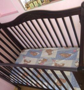 Кровать гандылян матрас наматрасник