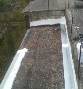Герметизация и гидроизоляция окон.балконов и швов.