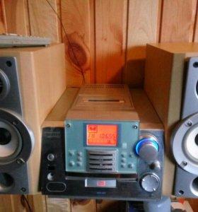 Музыкальный центр samsung MM-ZB9