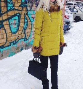 Пальто 42-44 зима-осень