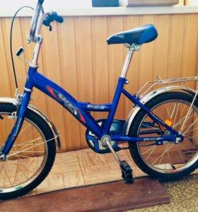 "Велосипед детский SAFARI ""PROFF"", 18"" синий"