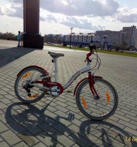 Велосипед для девочки до 10 лет