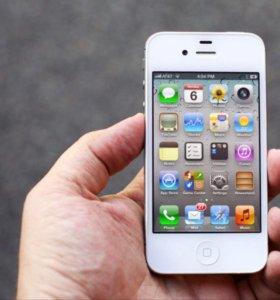 Айфон 4 s , 16 Гб, новый