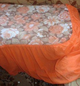 Покрывало на кровать - новое