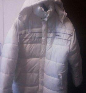 Новая куртка, зима на рост 1.75 и выше
