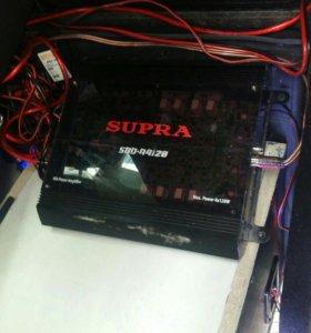 усилитель supra sbd-a4120.4 канала.