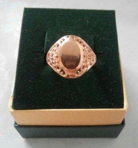 Кольцо печатка