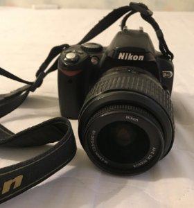 """Зеркальный фотоаппарат от """"Nikon"""" D40 zoom3X"""