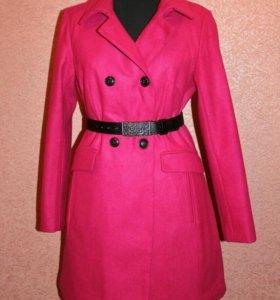 Шерстяное пальто, новое