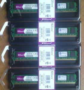 DDR2 800MHz по 2Гб