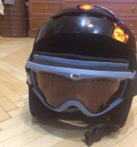 Горнолыжный шлем
