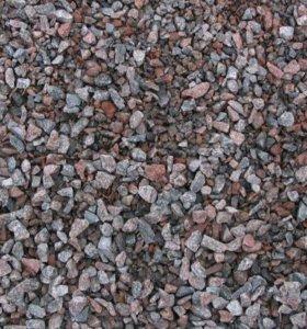 Щебень, песок, шлак и др