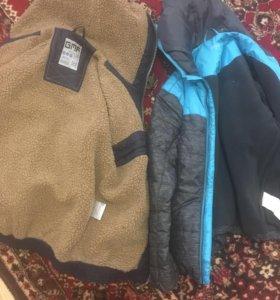 2 демисезонные куртки