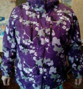Куртка женская от лыжного костюма