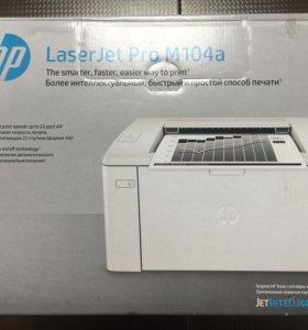 Принтер LaserJet Pro M104a + 2Тонер-картриджа(нов)