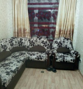 Углово диван+ кресло.