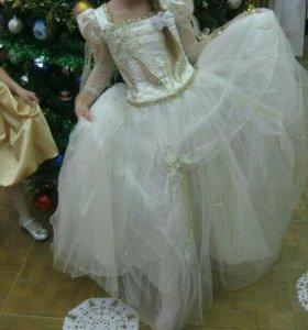 Вечернее шикарное платье на девочку