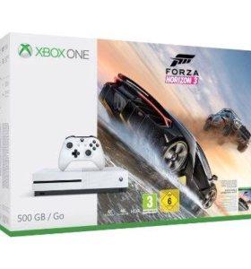 Xbox One S 500 GB Forza Horizon 3 (New + Гарантия)