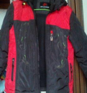 куртки на мальчика 135-140