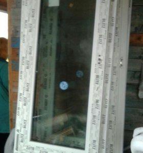 Балконная дверь rehau70