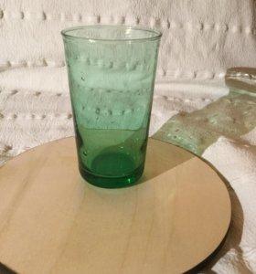 Стеклянный стакан для воды IKEA