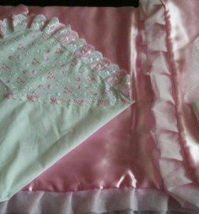 Бесплатно Одеяло на выписку из роддома на весну