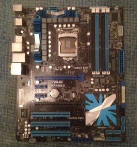 Материнская плата Asus , процессор i3