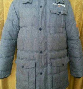 Зимнии синтипоновые куртки б/у для гулянок