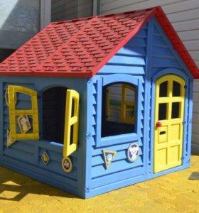 Пластиковый  Детский Игровой  Домик