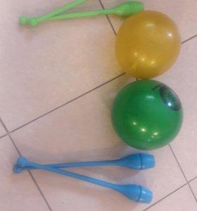 Булавы и мяч