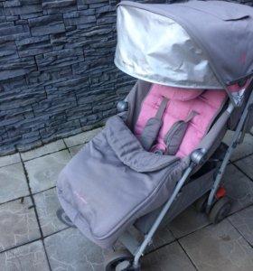 Коляска Maclaren с чехлом и дождевиком в комплекте