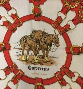 Платок Hermes Cuivreries
