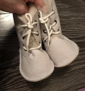 Детские пинетки сапожки зимние