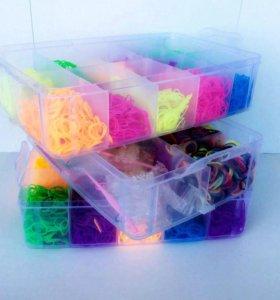 Продам резиночки rainbow loom(описание)