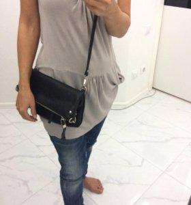 Кожаная сумка Calipso