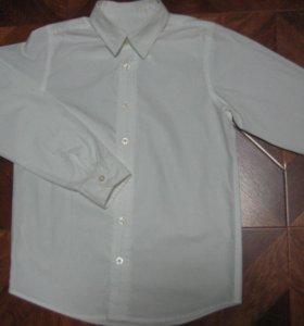 Рубашка школьная ворот 32 на рост 129-134