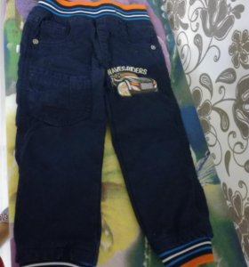 Джинсовые брюки на мальчика