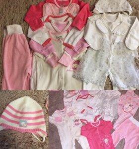 Одежда для девочки от 0-3